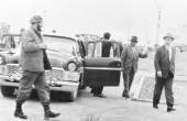 Yangiyer Fidel and Rashidov arrived 1963 — Stock Photo