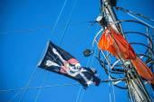 Bandera pirata — Foto de Stock