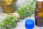 Rosemary with tincture — Stock Photo