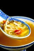 Asian noodle soup — Stock Photo