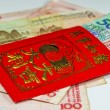Постер, плакат: Chinese New Year envelope Lai Si with money and blessings