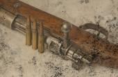 Carabina con munizioni — Foto Stock