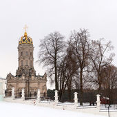The Church of Holy Virgin in Dubrovitsy — Stock Photo