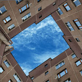 Window in the sky. — Stock Photo