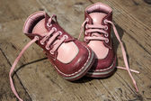 Kid's leather shoes — ストック写真