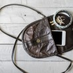 Brown women's purse.  — Stock Photo #74900151
