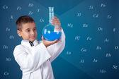Pequeno químico — Fotografia Stock