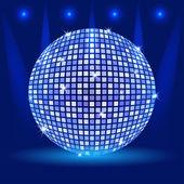 Vector de bola de discoteca — Vector de stock