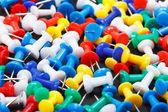 Colorful push pins  — Stock Photo
