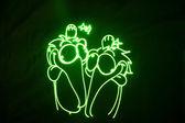 激光 — 图库照片