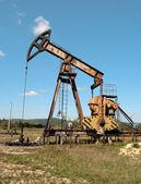 Olejové čerpadlo — Stock fotografie