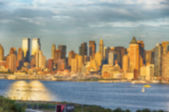 A blurred defocus background image from NYC — Stock Photo