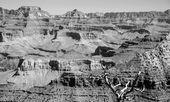 Grand canyon national park landscape, arizona, usa — Stock fotografie