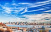 Blurred Background image from New York City — Стоковое фото