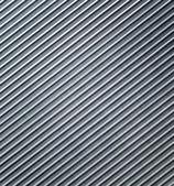 Metallic background. Striped aluminium texture — Stock Photo