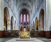 Catholic church of Saint Germain of Auxerre in Paris, France. — Stock Photo