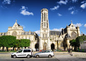 Catholic church of Saint Germain of Auxerre in Paris, France. — Stockfoto