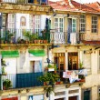 Colorful facades of old houses in Porto, Portugal. — Stock Photo #62350963