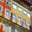 Colorful facades of old houses in Porto, Portugal. — Stock Photo #64117905