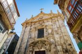 The Church of Our Lady Victorious in Porto, Portugal. — Stock Photo