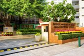 The entrance of Macau Polytechnic Institute. — Stock Photo