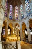 Catholic church of Saint Germain of Auxerre in Paris, France. — Stock Photo
