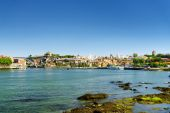 The Douro River and the view of the historic centre of Porto, Po — Stock Photo