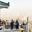 Постер, плакат: Viewpoint of the Victoria Peak in Hong Kong