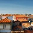 Colored facades and roofs of houses in Porto, Portugal. — Stock Photo #66038069