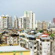 View of houses in the historic centre of Macau — Stock Photo #68253173