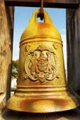 Die bronzene Glocke in Monte Fort von Macao — Stockfoto