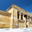 The Temple of Debod, ancient Egyptian temple, in the Parque del — Stock Photo #72471877