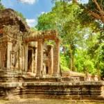 Ta Kou Entrance (East Gate) in Angkor Wat. Siem Reap, Cambodia — Stock Photo #78095972