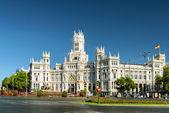 The Cybele Palace (Palace of Communication). Madrid, Spain — Stock Photo