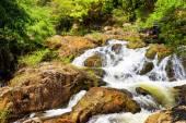 Beautiful cascade of the Datanla waterfall in Da Lat city (Dalat), Vietnam — Stock Photo