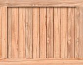 Texture of wood box with space — Stock Photo