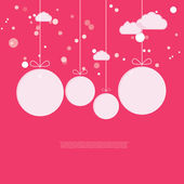 New year ballons. — Stock Vector