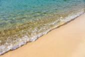 Sea water and sand — Stock Photo