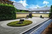 Japanse stenen tuin — Stockfoto