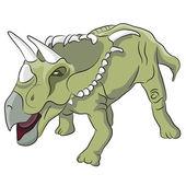 Kosmoceratops Dinosaur — Stockvektor
