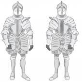 Suit of Armor — Stock Vector