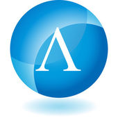Greek Fraternity Symbol Icon — Vecteur