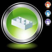 Floorplan web button — Stockvektor