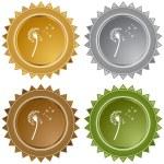 Dandelion web icon — Stock Vector #64130253