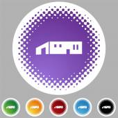 Icona grande magazzino — Vettoriale Stock