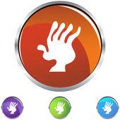 Arthritis web icon — Stock Vector