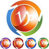 Capricorn Zodiac Symbol — Stock Vector
