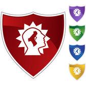 Gunshot Injury web icon — Cтоковый вектор