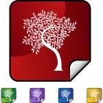 Leaf Tree icon — Stock Vector #64144009