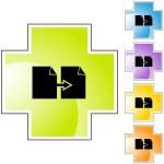 Copy Paper button set — Stock Vector #64145437